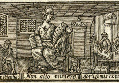 XVI a. spaustuvė. 1710. LMAVB