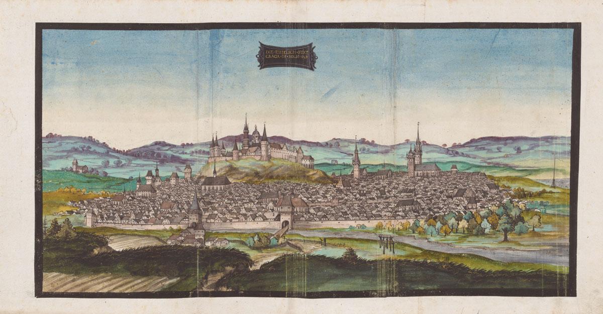 Krokuva apie 1536 m. BUW