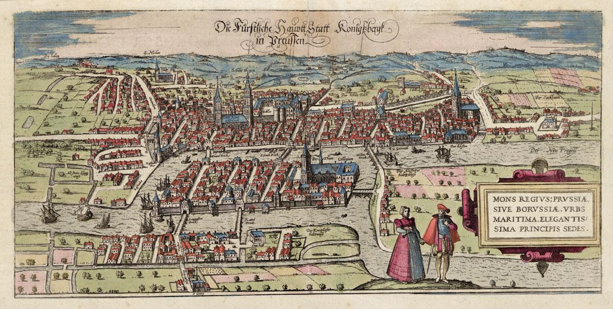 Karaliaučius XVI a. 1581. VUB